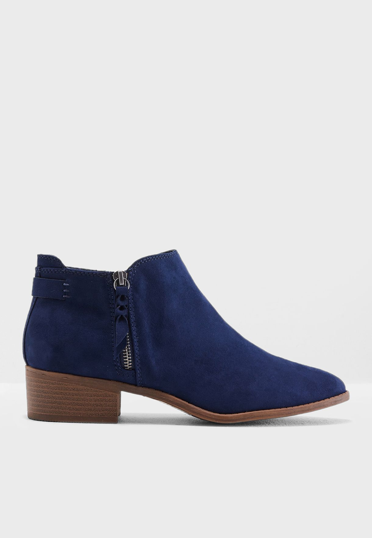 e59d6702c38c Shop Dorothy Perkins navy Major Ankle Boots 19146830 for Women in Bahrain -  DO860SH80QFZ