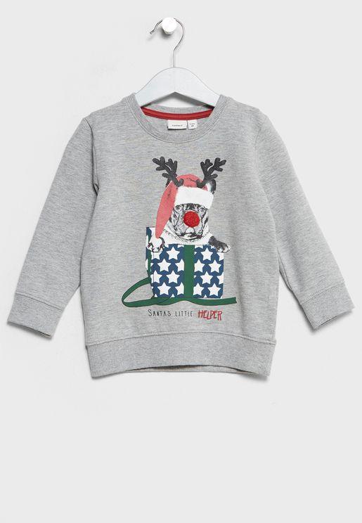 Infant Christmas Sweatshirt