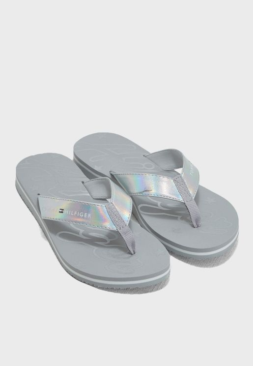 Mirror Sparkle Beach Sandal