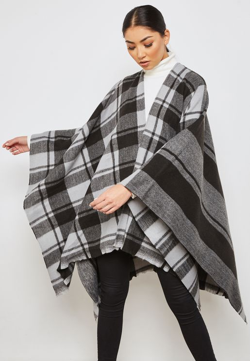 Checked Kimono