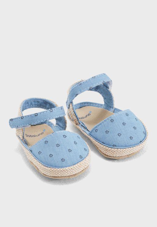 Infant Printed Sandal Gift Box