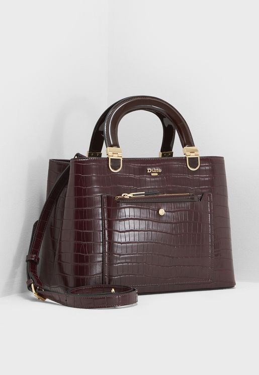 Medium Denice Top Handle Satchel