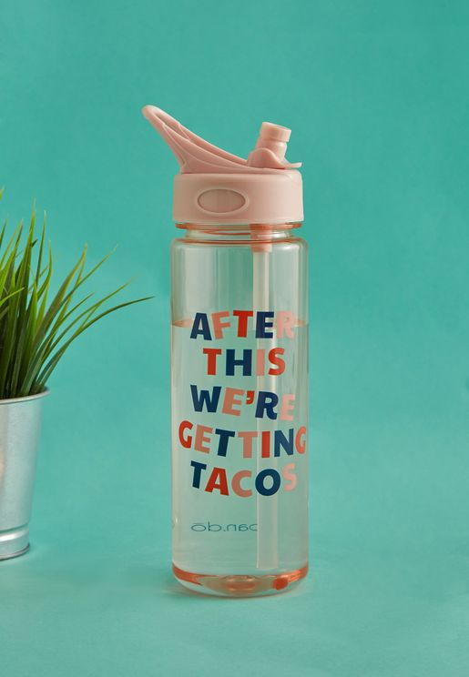 After This We ' Re Getting Tacos - Water Bottle