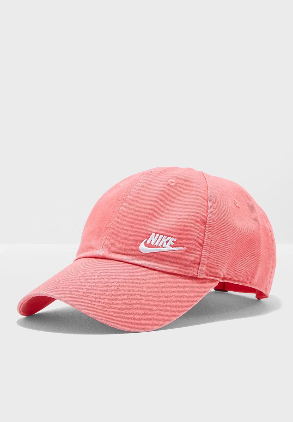 95944b392e6f1 Shop Nike pink H86 Futura Classic Cap 832597-823 for Women in UAE -  NI727AC80RDF
