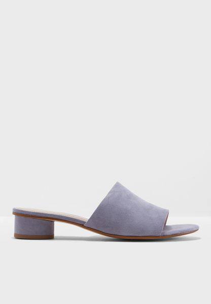 Spencer1 <br /> Heel Mules