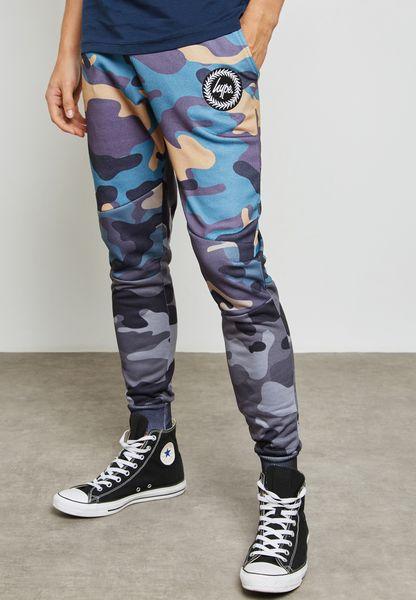 Camo Print Sweatpants