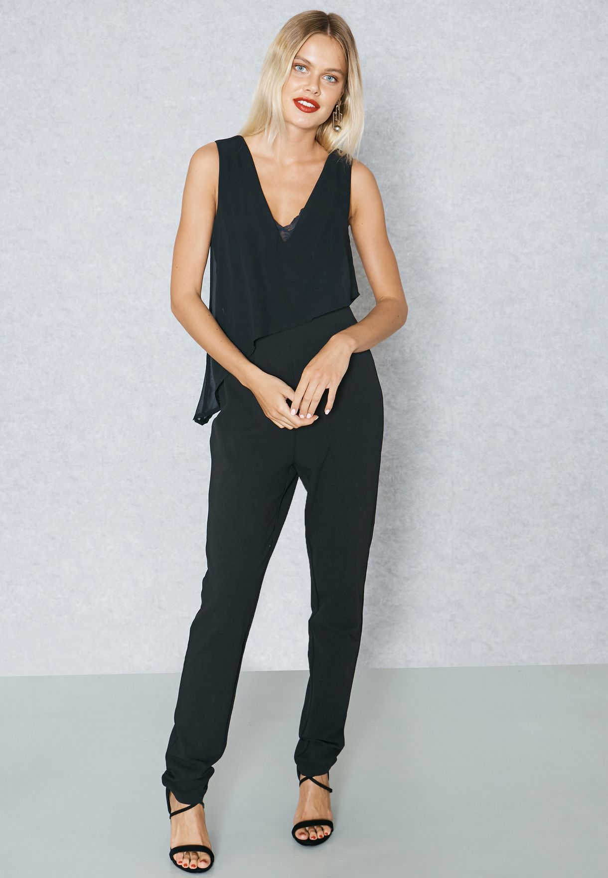 1bd79a9482ac Tall Plunge Jumpsuit