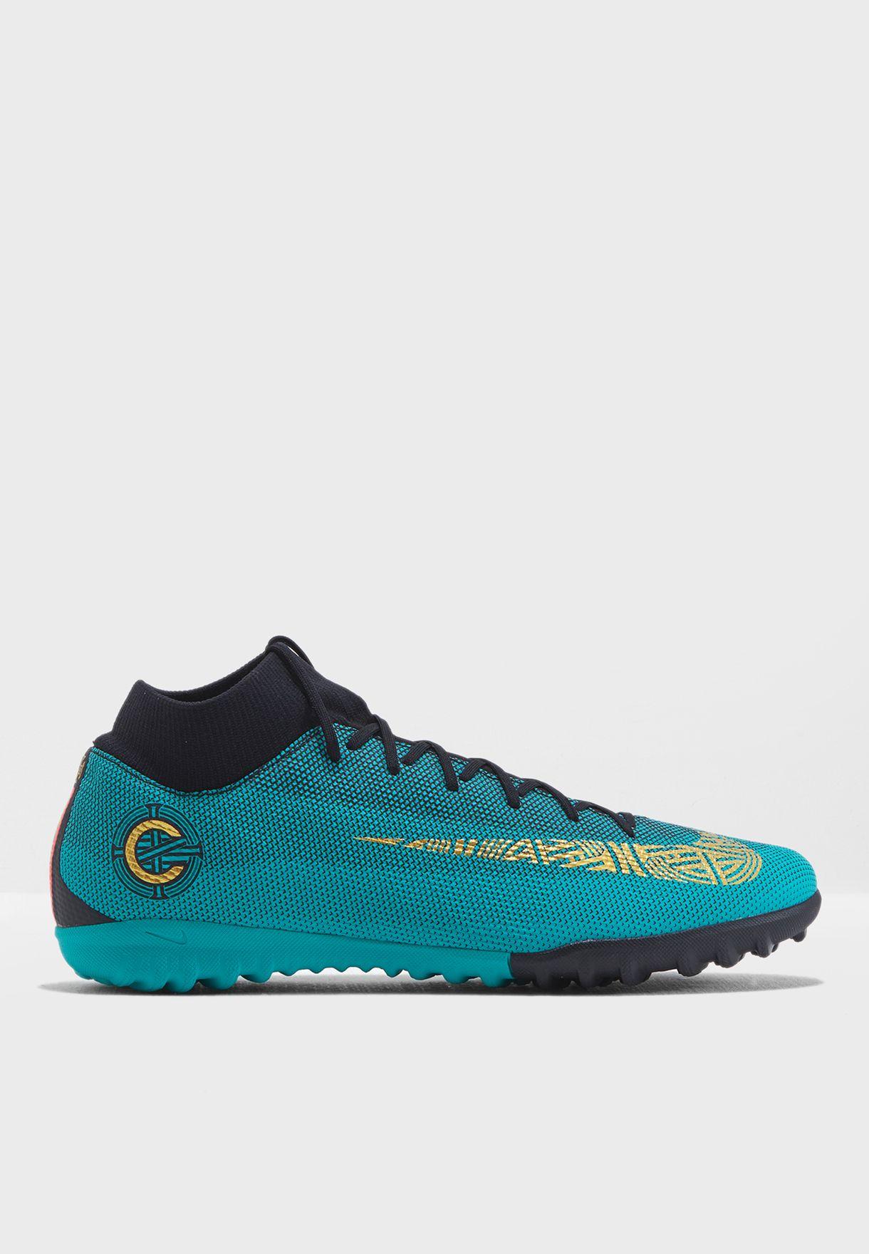 Shop Nike green Superflyx 6 Academy CR7 TF AJ3568-390 for Men in Qatar -  NI727SH80HIH b38e76f429d1