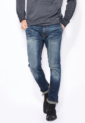 Guess Adam Super Skinny Mid Wash Jeans
