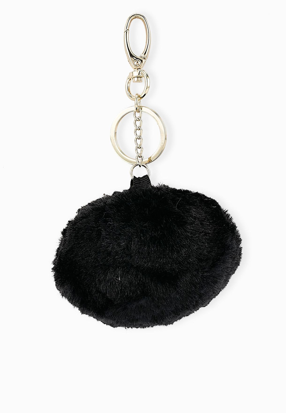 Shop Ginger black Big Pom Pom Key Ring for Women in UAE - GI121AC80EFZ 9b8265b119ffc