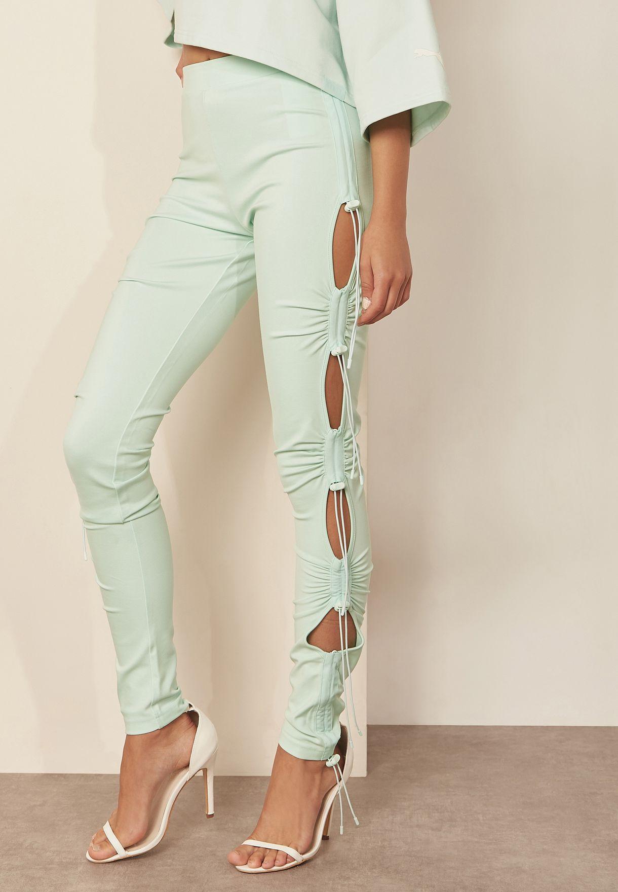 Ruching Leggings