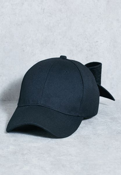 Bow Detail Cap