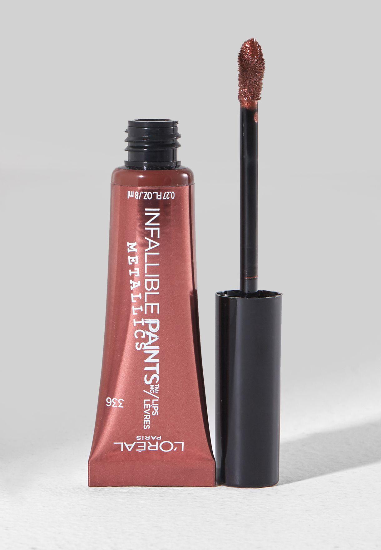 Infallible Lip Paints Metallic - Liq Venom