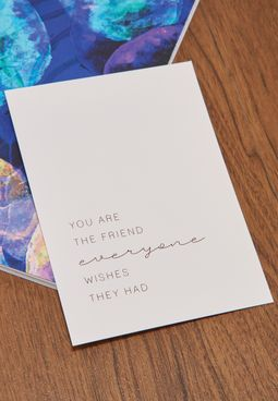You Are The Friend Card