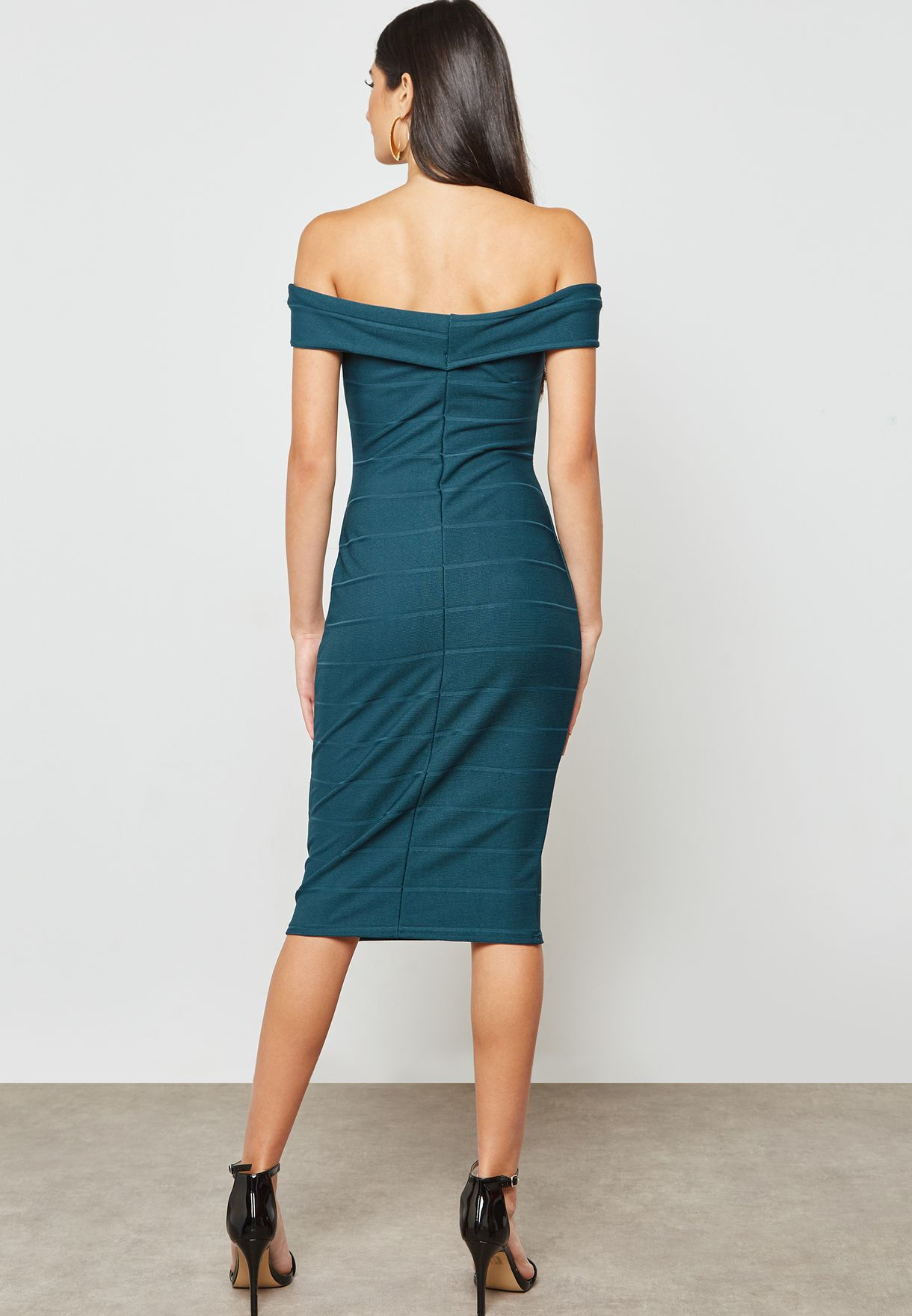 Bodycon Bardot Dress