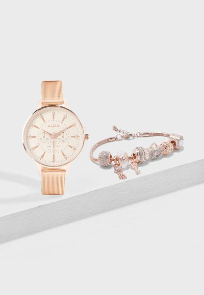 Watch + Bracelet Set