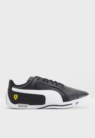 255833079a6168 Shop PUMA black Ferrari Future Cat Ultra 30624102 for Men in Qatar ...