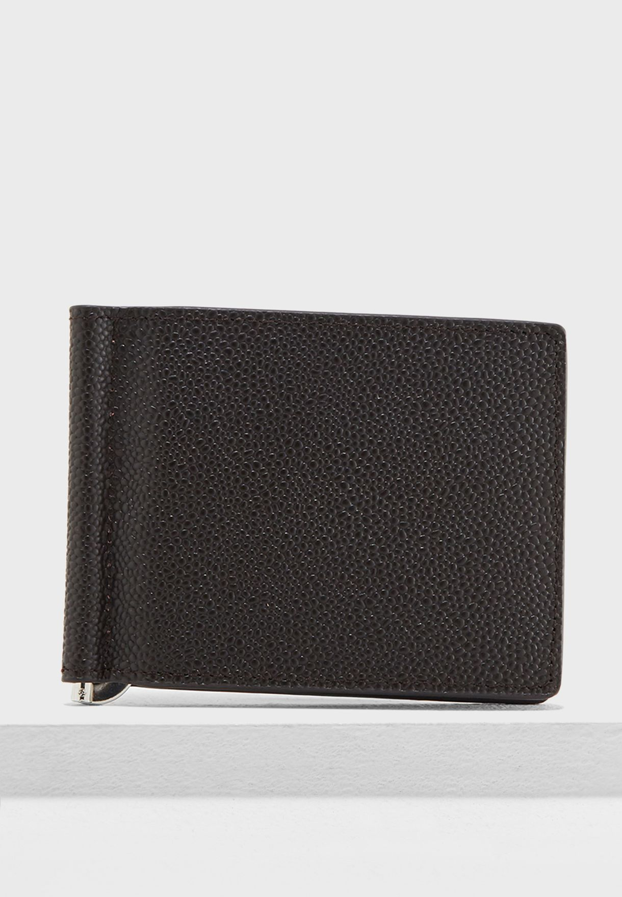 Shop Mango Man browns Pebbled Leather Wallet 33080786-CU for Men in ... 453a99e50572c