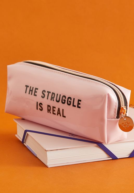 The Struggle - Box Pencil Case