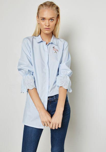 Lace Cuffed Shirt