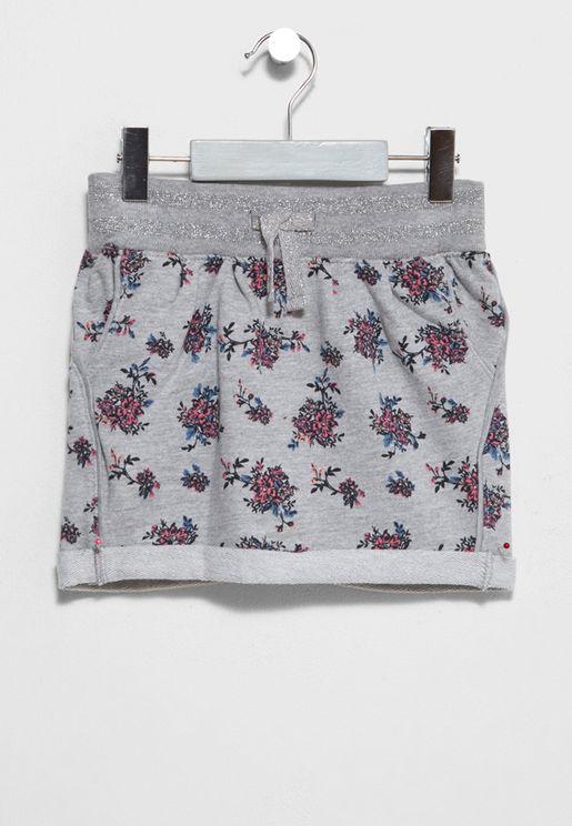 Little Floral Skirt