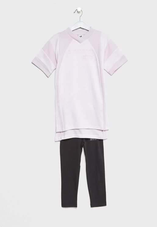 Kids EQT T-Shirt+Leggings Set