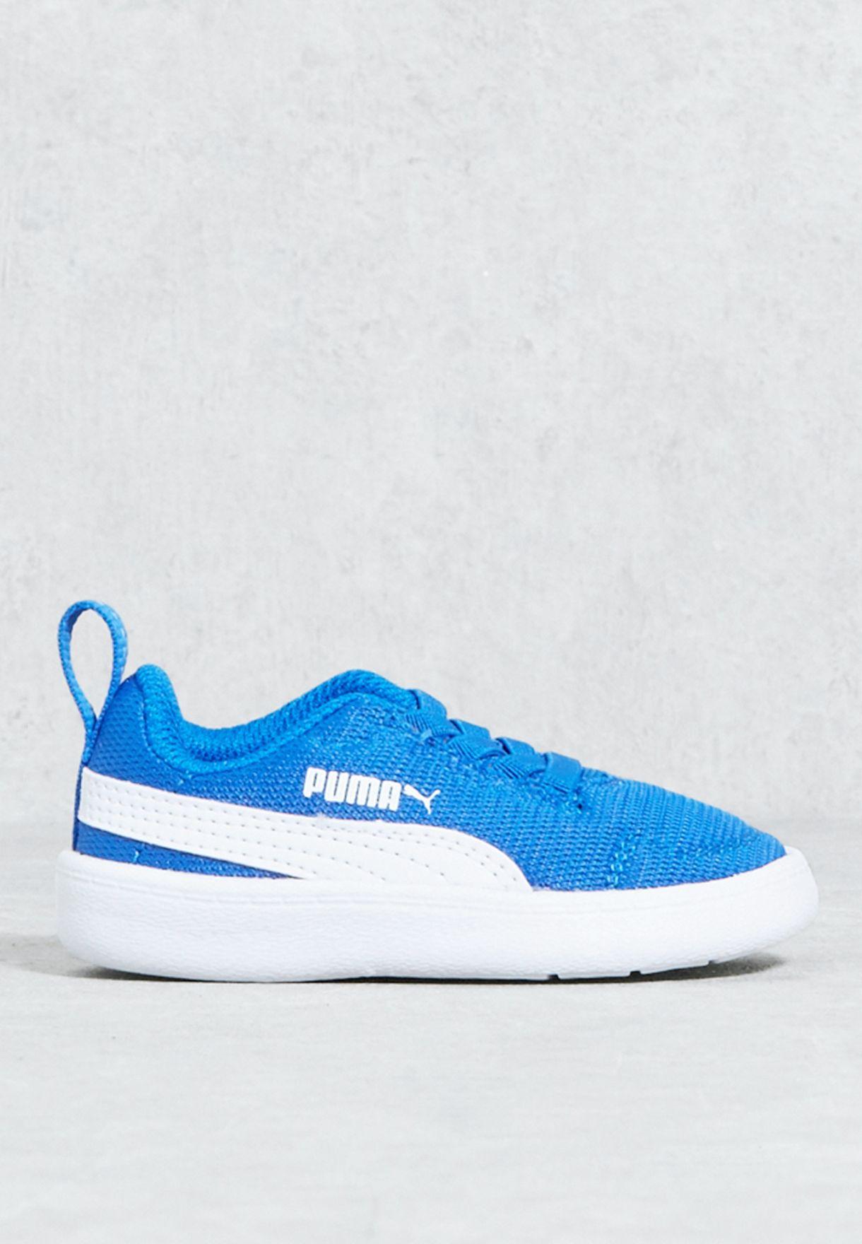 7cd305cc04a Shop PUMA blue Courtflex Mesh Infant 36427805 for Kids in Kuwait ...