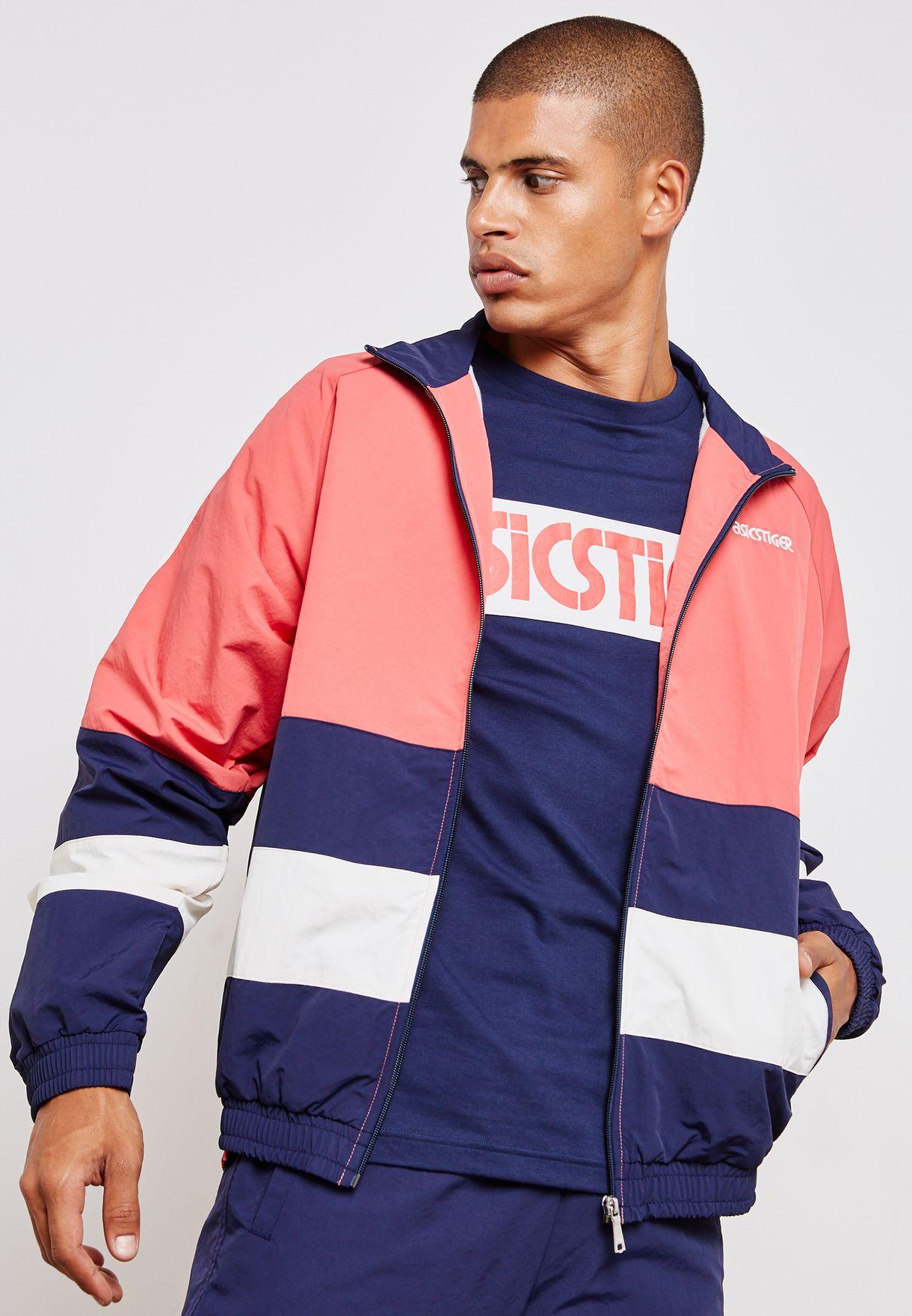 Colour Block Windbreaker Jacket