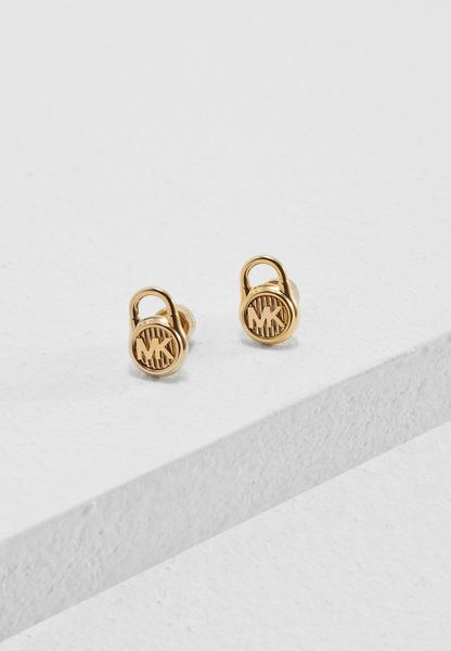 Padlock Stud Earrings