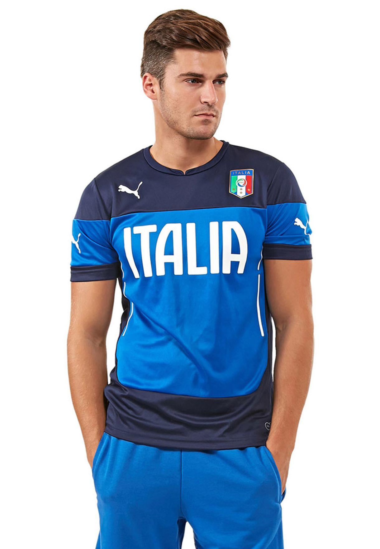 san francisco 4ea8f 10c6a Figc Italia Training T-Shirt