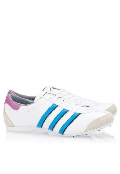 Il negozio di scarpe adidas originali aditrack d65835 per le donne in bianco