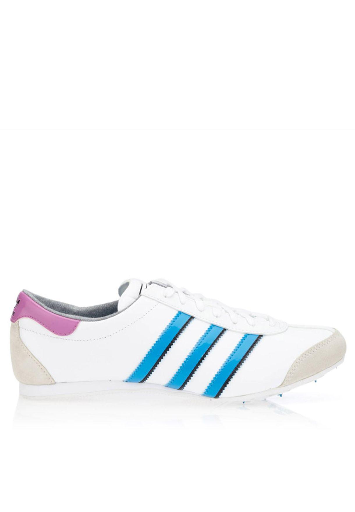 adidas Aditrack W shoes white pink