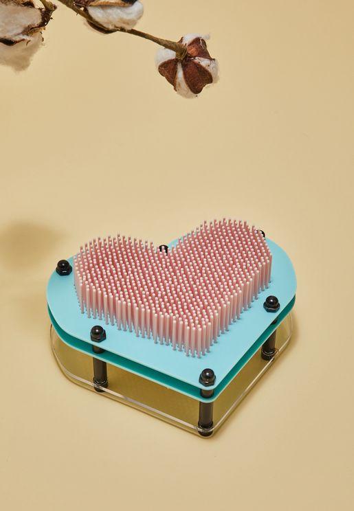 Heart 3D Pin Art
