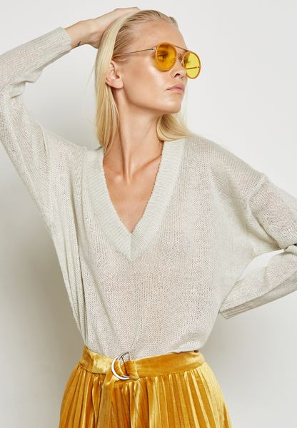 Side Slit Oversized Sweater