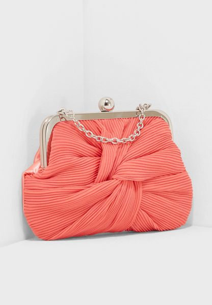 Pleat Frame Clutch