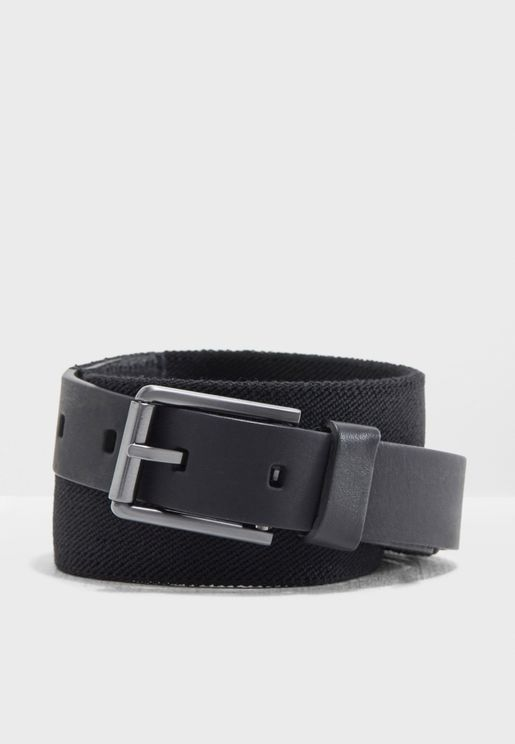 3 Cm Elastic Leather Belt