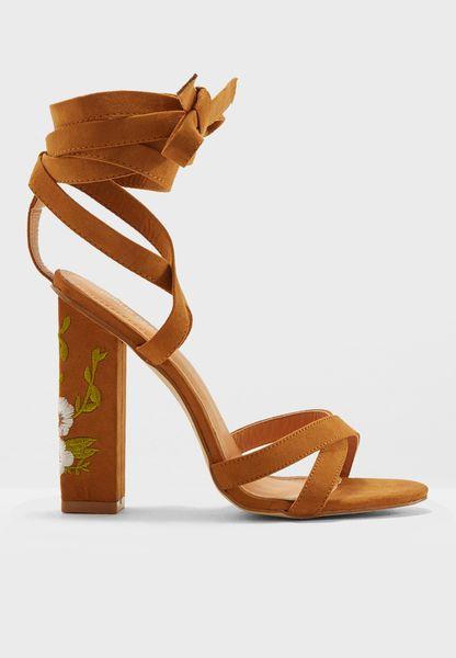 Wilderness High-Heel Sandals