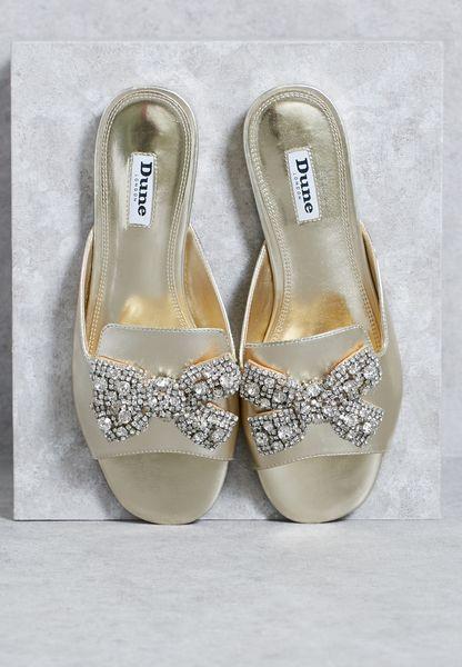 Bow Crystal Sandal
