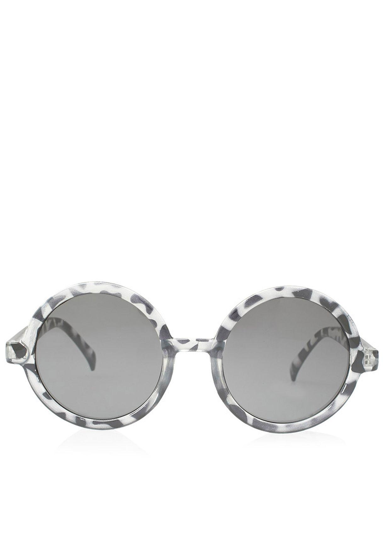 0f360dd0b4 Shop Ella monochrome Round Printed Sunglasses for Women in Oman -  EL314AC70GSZ