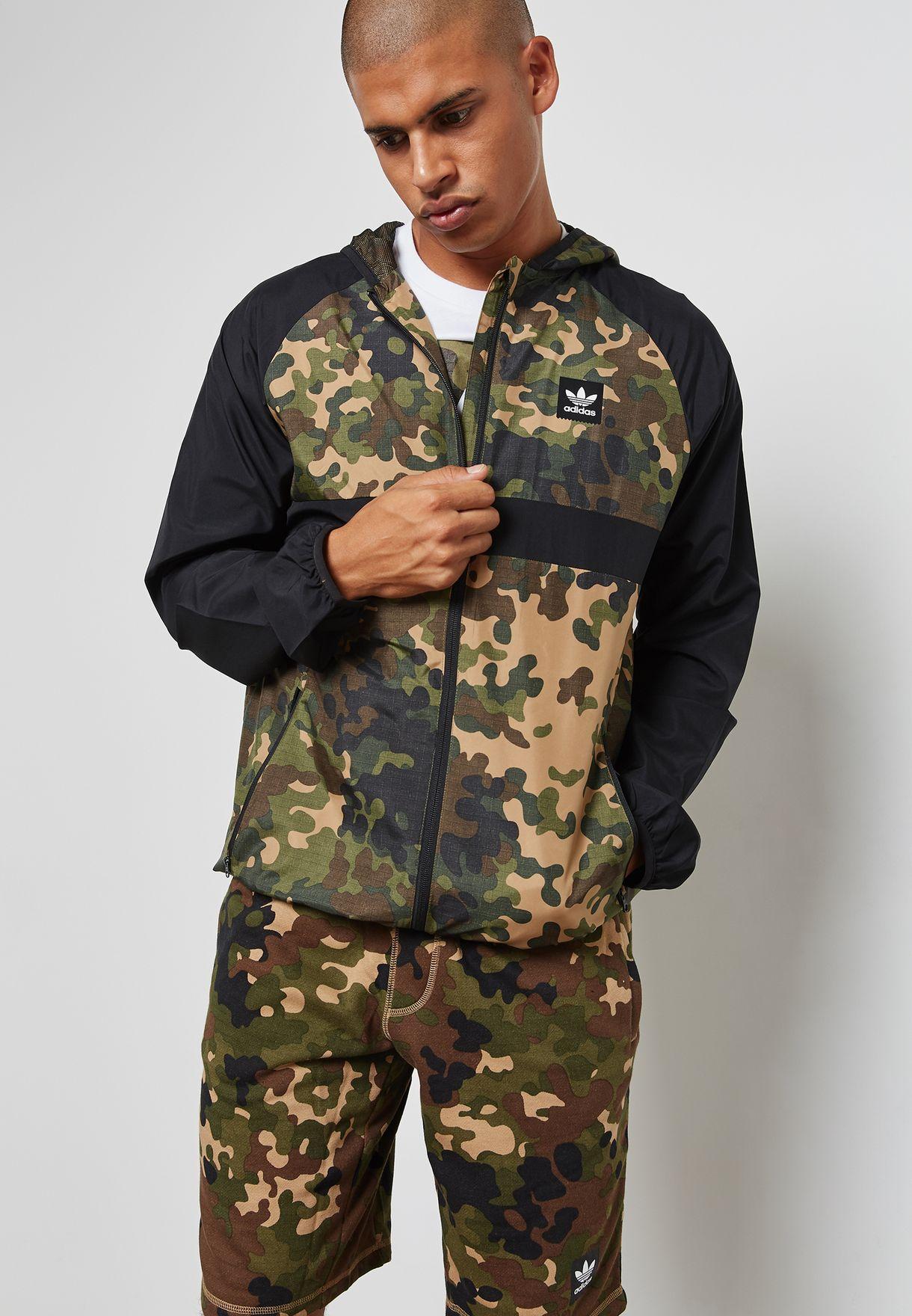 Windbreaker AOP Jacket