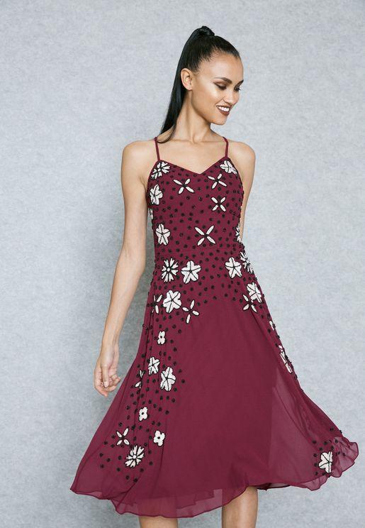 Beaded Embellished Dress