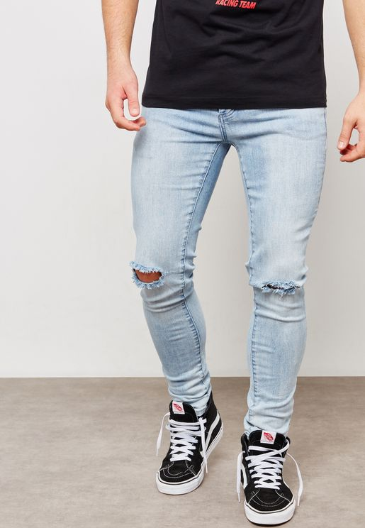 بنطال جينز ممزق