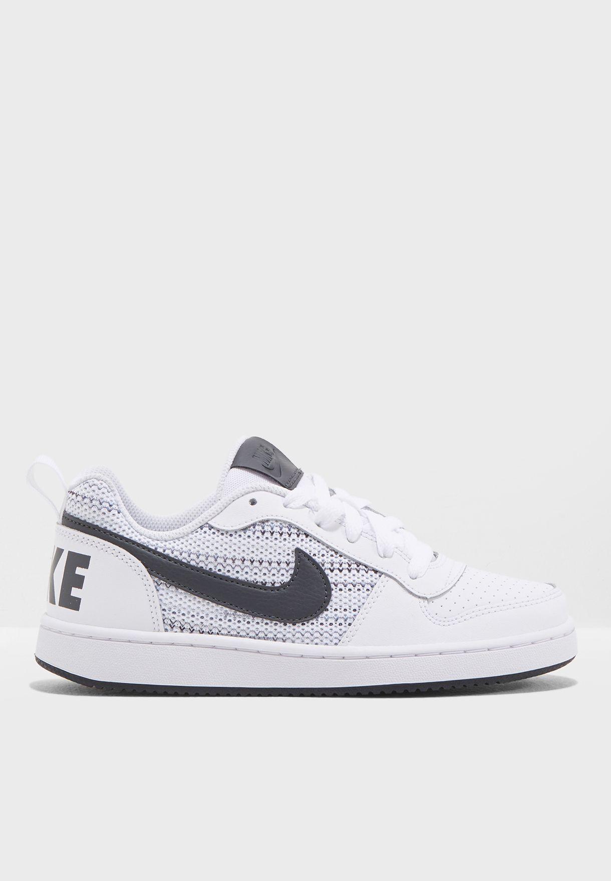 5d12258e12 Shop Nike white Youth Court Borough Low SE AA2902-100 for Kids in Oman -  NI727SH70XLX