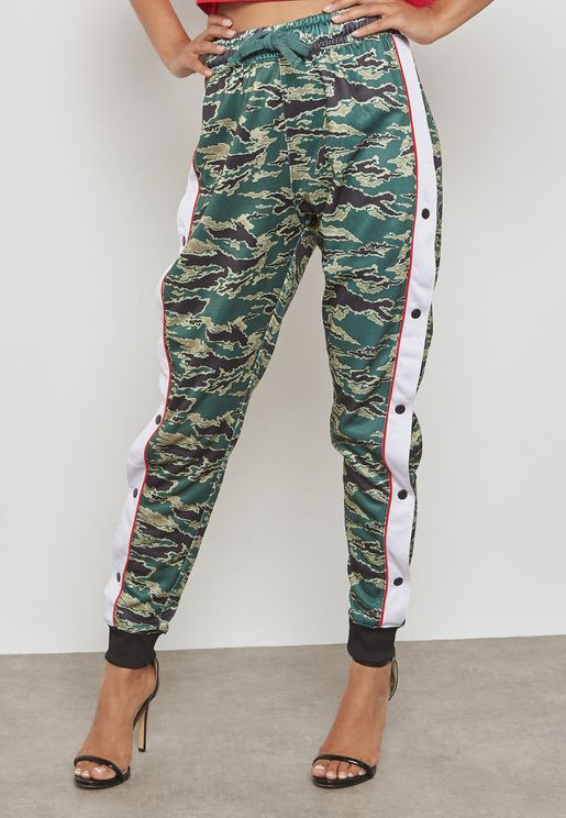Stripe Popper Pants