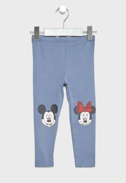 Little Mickey And Minnie Leggings