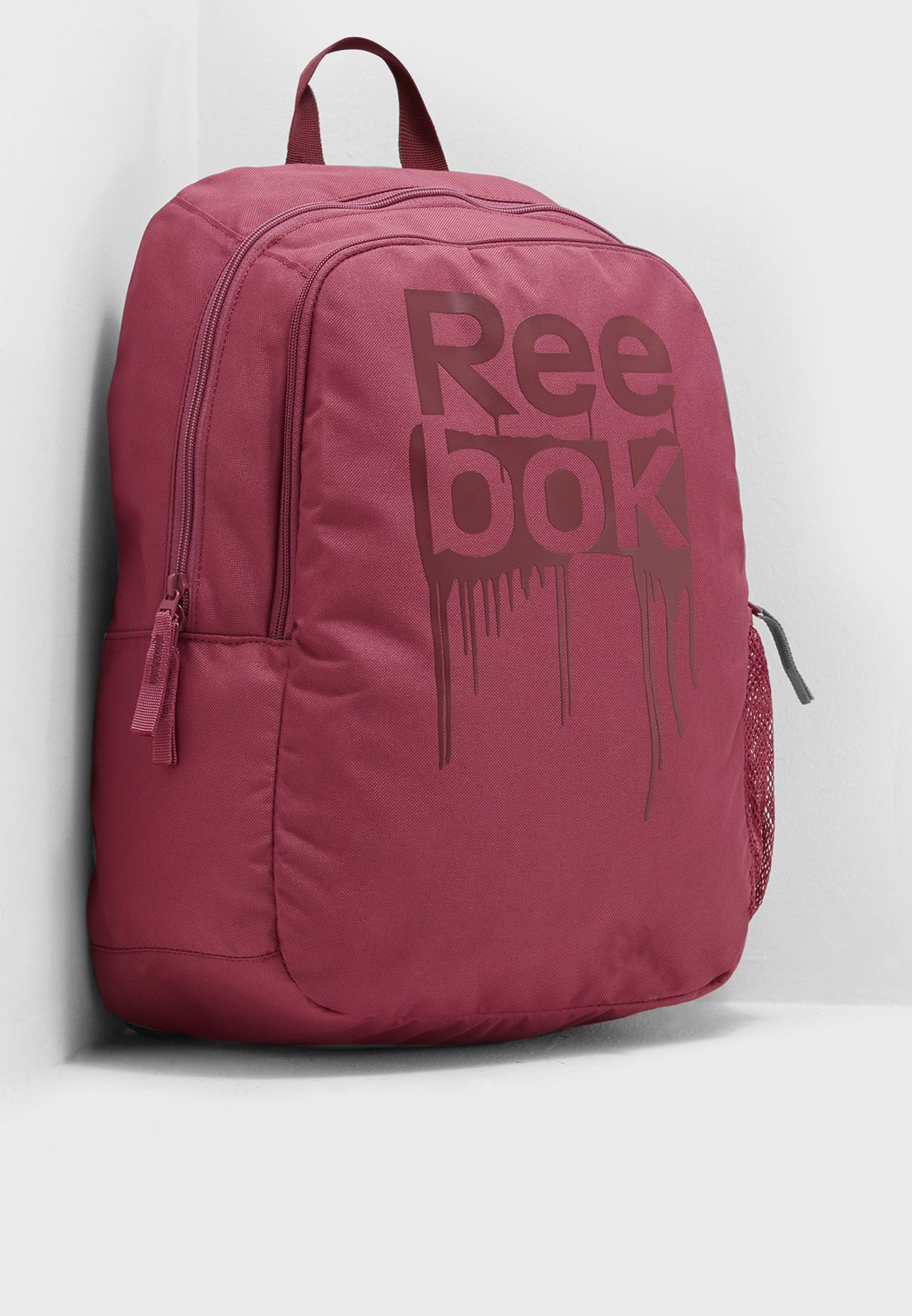 Shop Reebok pink Foundation Backpack DA1255 for Kids in UAE - RE019AC70GIR