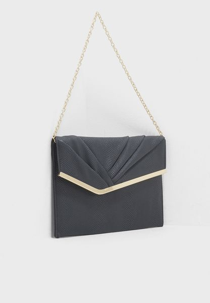 Meredith Ruched Clutch