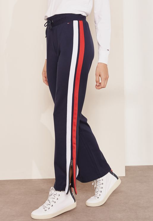 Striped Detail Joggers