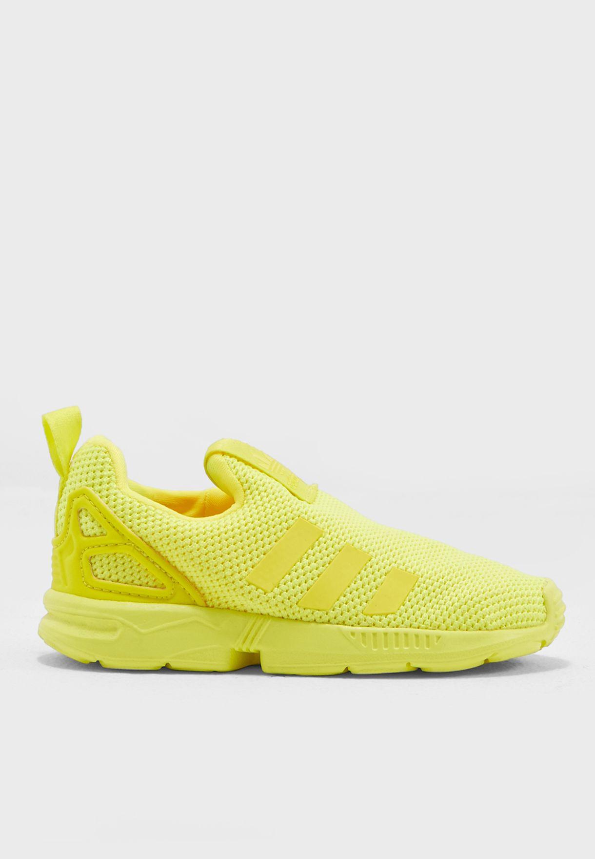 Buy adidas Originals yellow ZX Flux 360