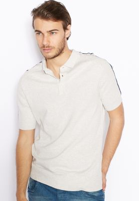 Brave Soul Jacquard Knitted Polo